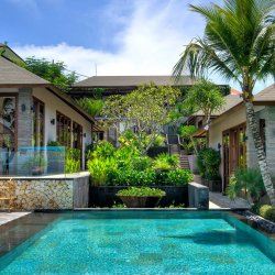 Villa View From Pool